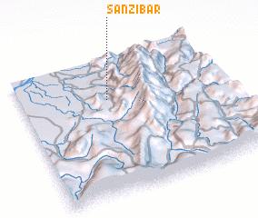 3d view of San Zibar