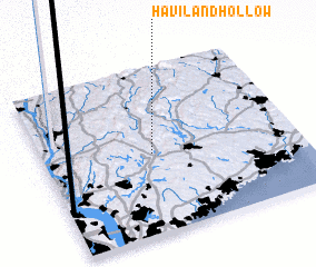 3d view of Haviland Hollow