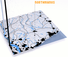 3d view of North Mianus