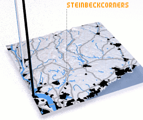 3d view of Steinbeck Corners