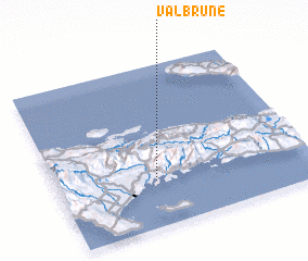 3d view of Valbrune