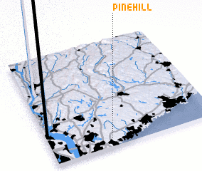 3d view of Pine Hill