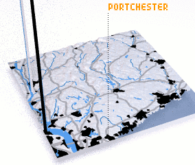3d view of Port Chester