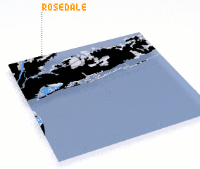 3d view of Rosedale
