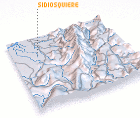 3d view of Si Dios Quiere