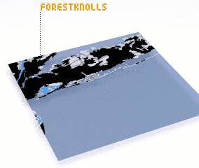 3d view of Forest Knolls