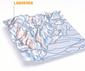3d view of La Aurora