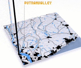3d view of Putnam Valley