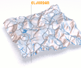 3d view of El Jordán