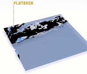 3d view of Flatbush