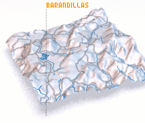 3d view of Barandillas