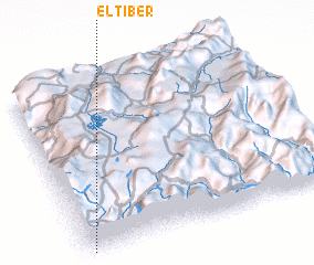 3d view of El Tíber