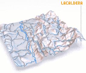 3d view of La Caldera