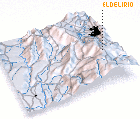 3d view of El Delirio
