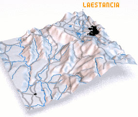 3d view of La Estancia