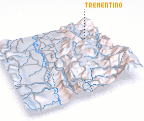 3d view of Trementino
