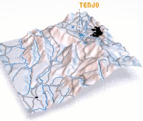 3d view of Tenjo