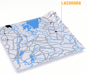 3d view of La Sonora