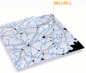 3d view of Wallkill