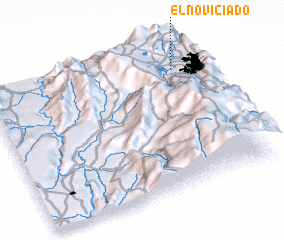 3d view of El Noviciado