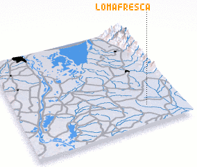 3d view of Loma Fresca
