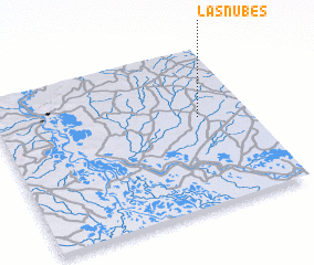3d view of Las Nubes