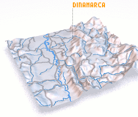 3d view of Dinamarca
