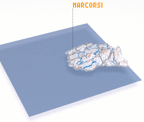3d view of Marcorsi