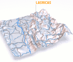 3d view of Las Micas