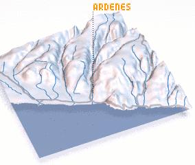 3d view of Ardenes