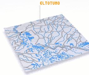 3d view of El Totumo