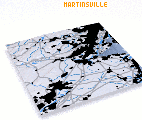 3d view of Martinsville