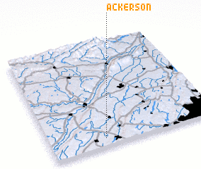 3d view of Ackerson