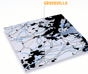 3d view of Groveville