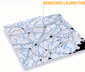 3d view of Branchville Junction