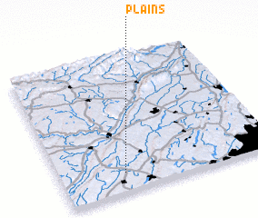 3d view of Plains