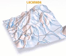 3d view of La Cañada