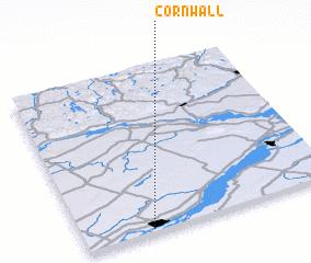 Cornwall Canada Map Nona Net