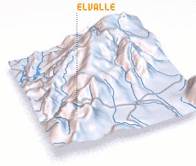 3d view of El Valle