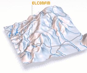 3d view of El Confín