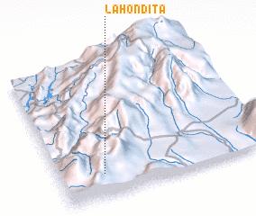 3d view of La Hondita