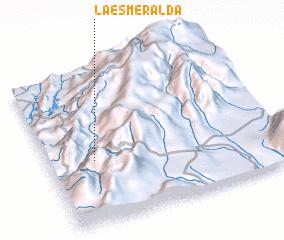 3d view of La Esmeralda