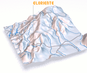 3d view of El Oriente