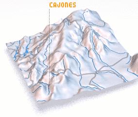 3d view of Cajones