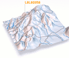 3d view of La Laguna