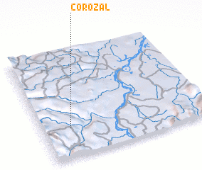 3d view of Corozal