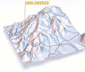 3d view of San Lorenzo