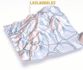 3d view of Los Laureles