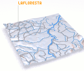 3d view of La Floresta