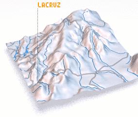 3d view of La Cruz